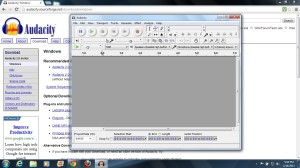 Audacity Software for Recording Audio