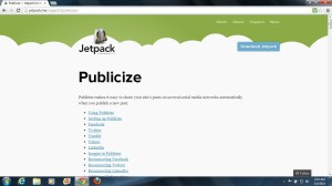 image of Publicize - Follow and Share Buttons from WordPress Jetpack